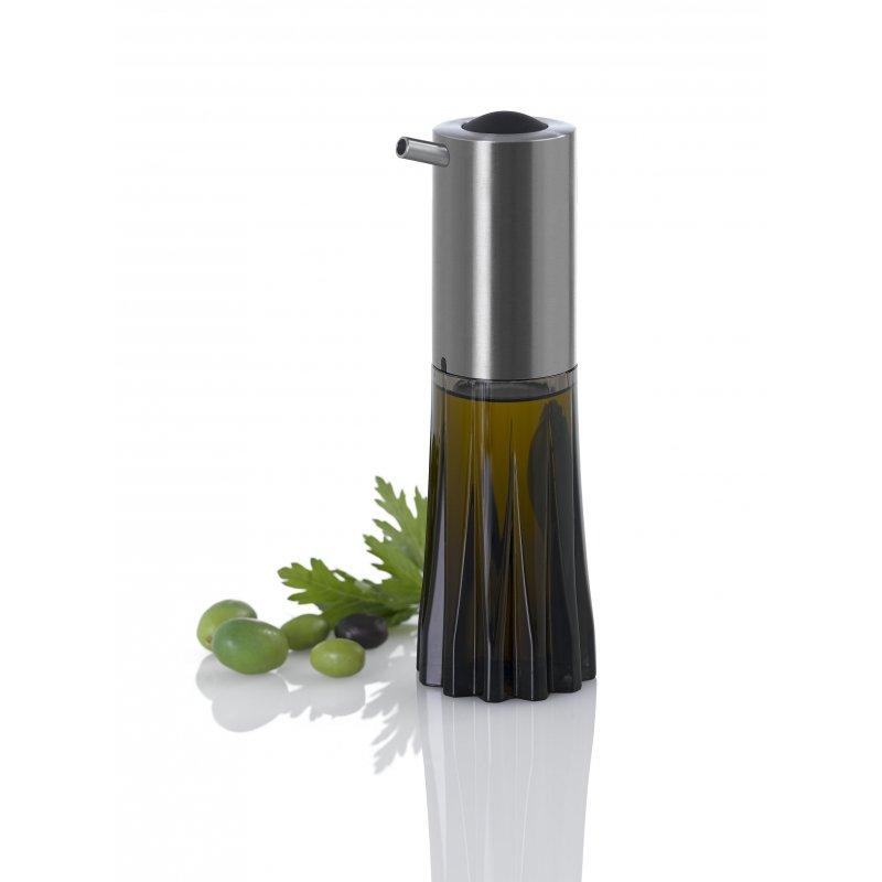 Dávkovač na olej či ocet CRYSTAL černý - AdHoc