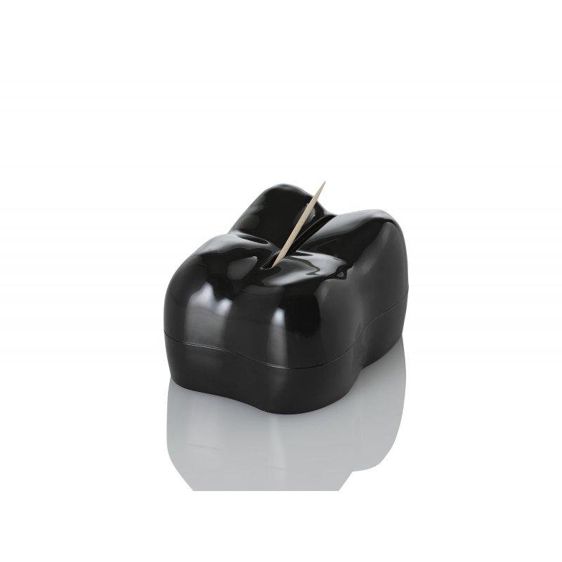 Zásobník na párátka STUZZI černý - AdHoc