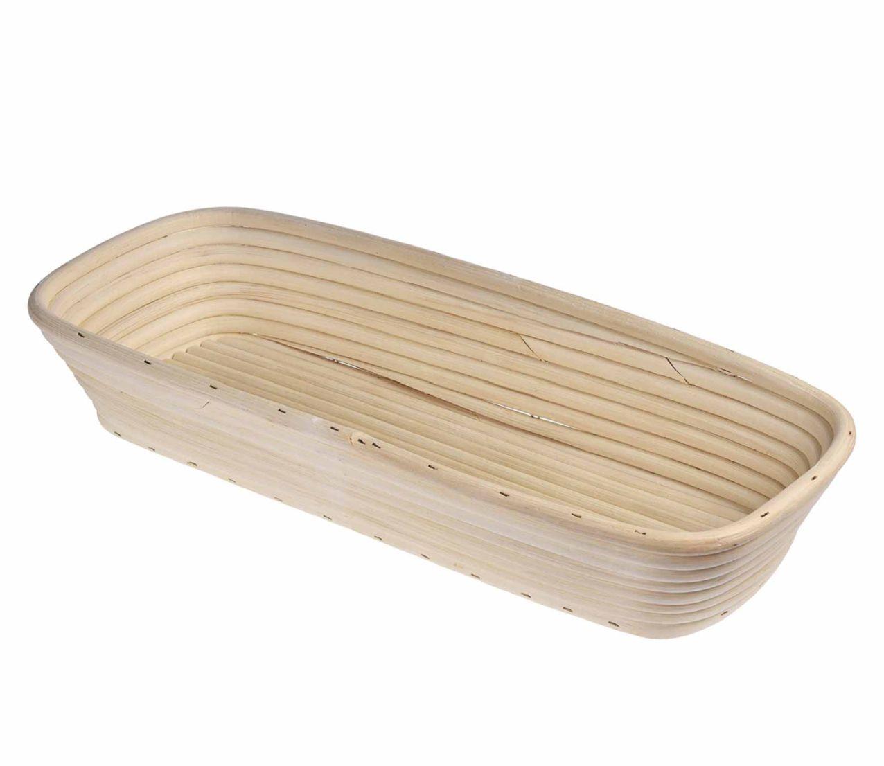 Hranatý košík na chleba, 15x40 cm - Küchenprofi