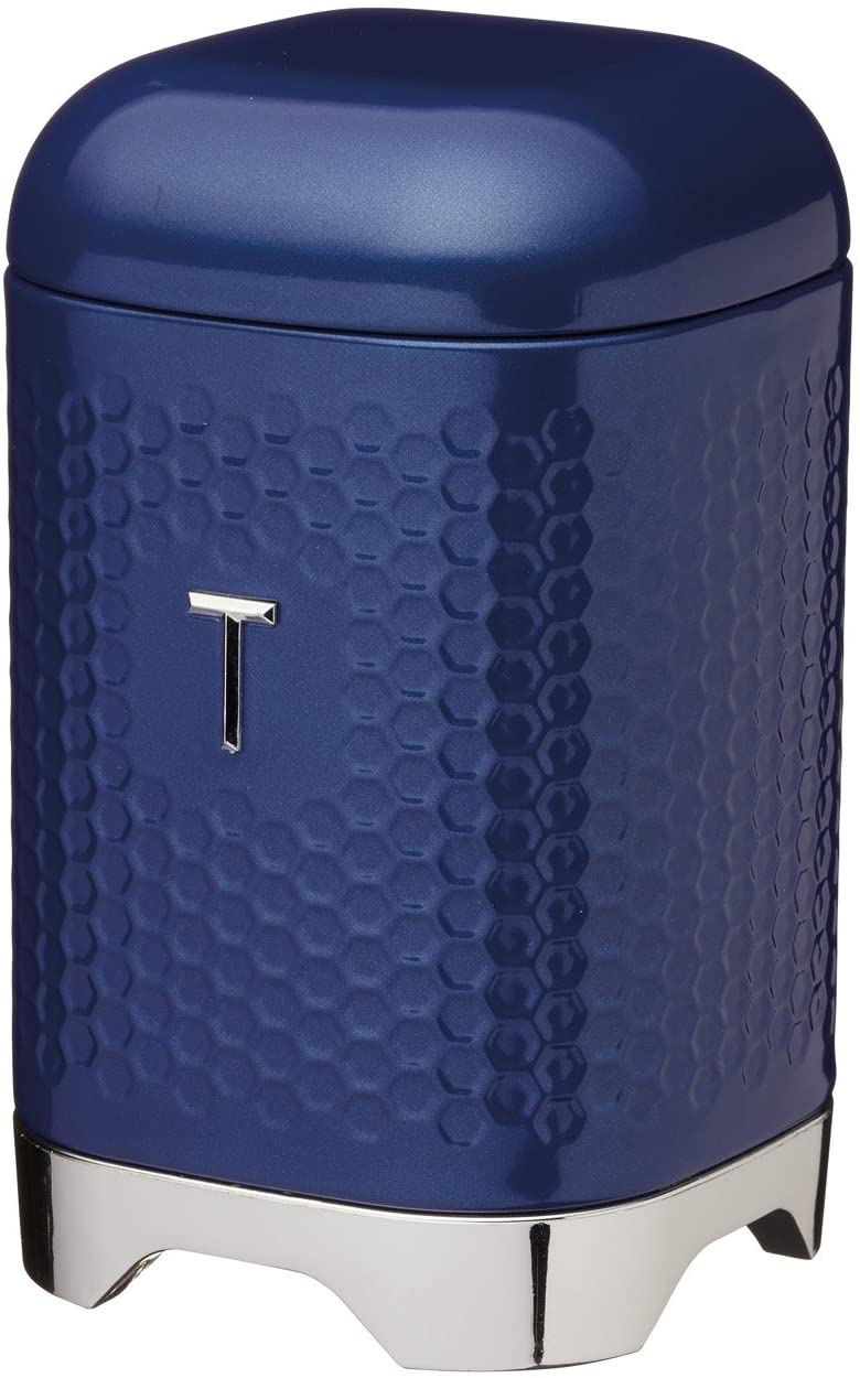 Dóza na čaj Lovello Textured modrá - KitchenCraft