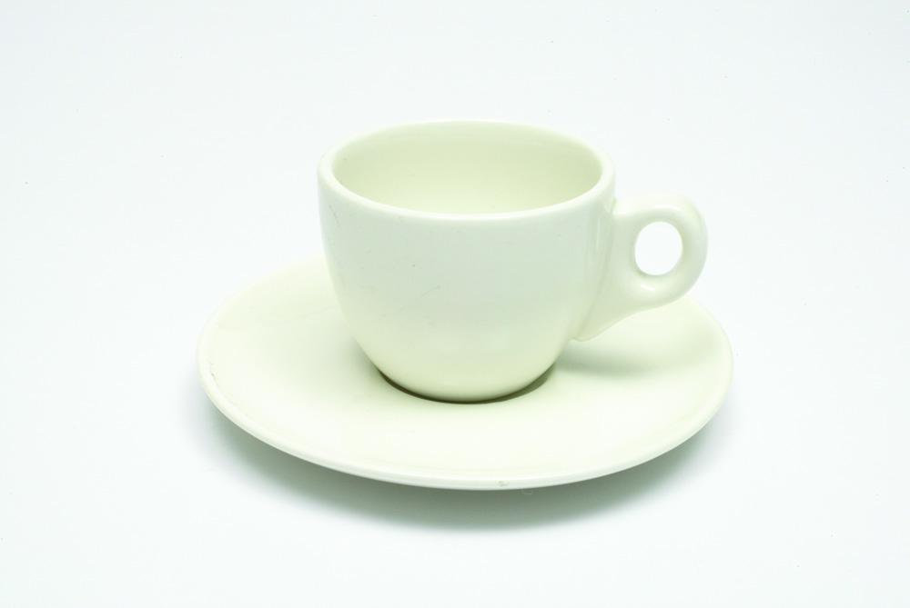 Šálek s podšálkem na espresso WHITE BASICS 80 ml 4 ks - Maxwell&Willia