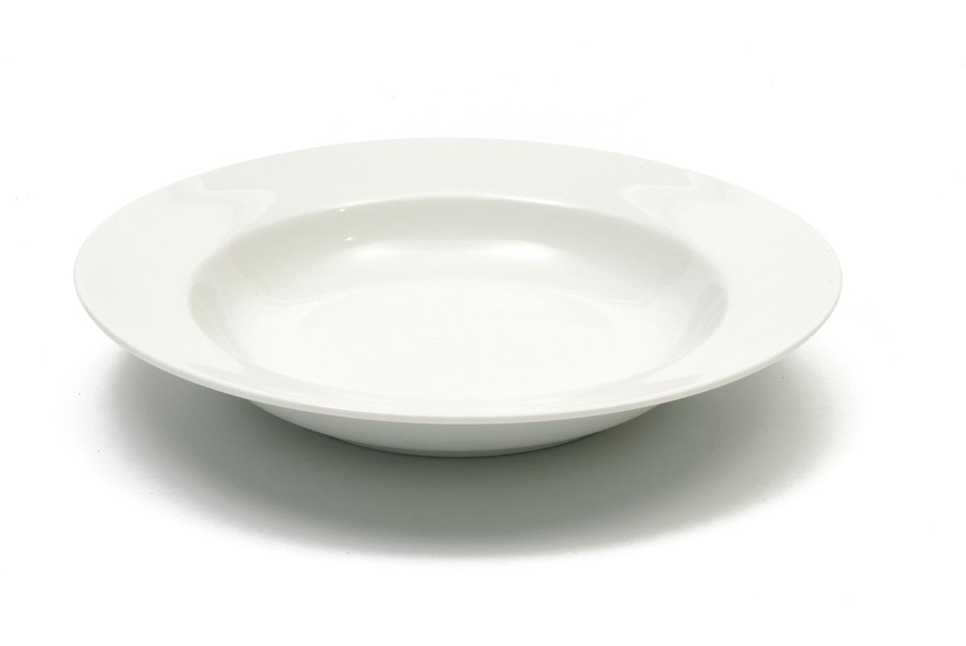 Porcelánový talíř na polévku White Basics 23 cm 4 ks - Maxwell&William