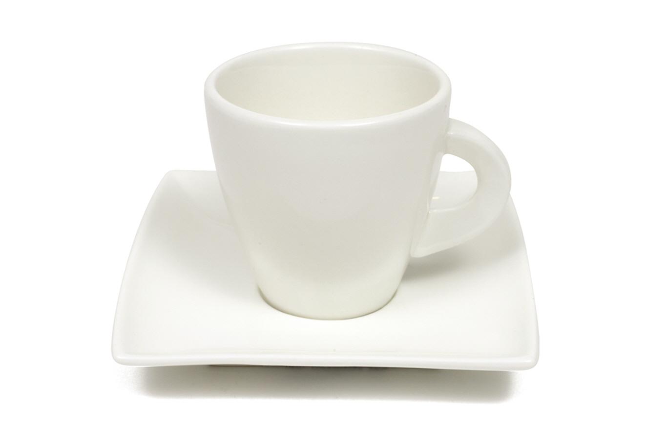 Šálek s podšálkem na cappuccino East Meets West 200 ml - Maxwell&Willi