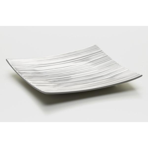 Čtvercový talíř/podnos White Basics Cirque 27 x 27 cm - Maxwell&Willia