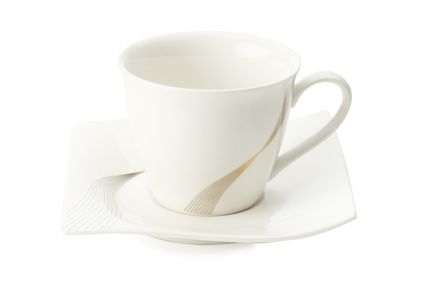 Šálek s podšálkem na cappuccino Frequency 230 ml - Maxwell&Williams