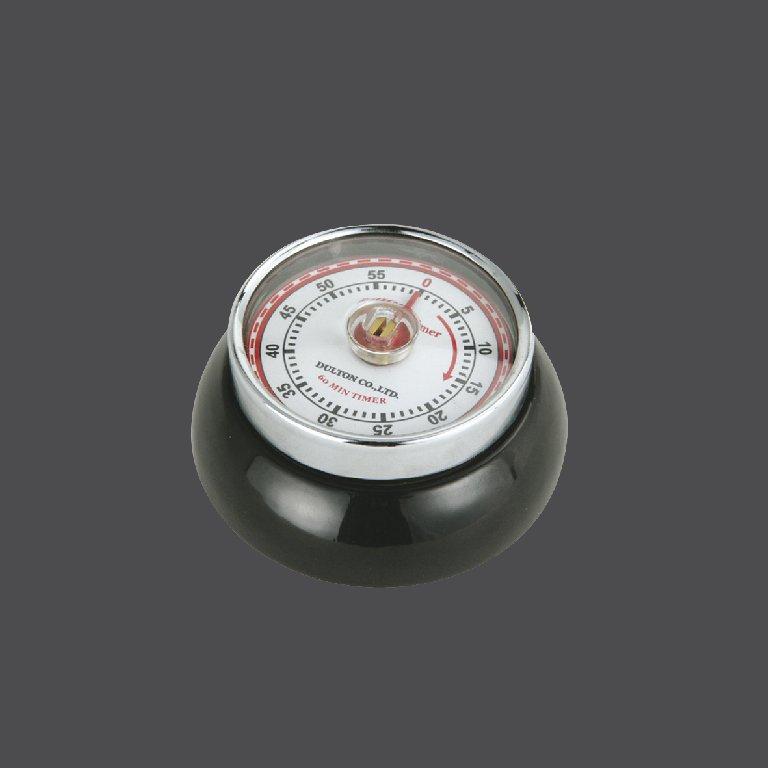Kuchyňská magnetická minutka Speed Retro černá - Zassenhaus