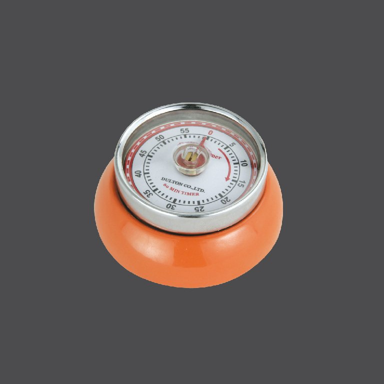 Kuchyňská magnetická minutka Speed Retro oranžová - Zassenhaus