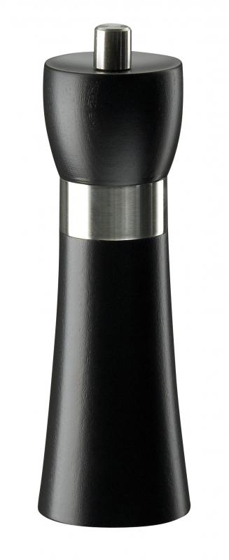Mlýnek na pepř HAMBURG černý matný 18 cm - Zassenhaus