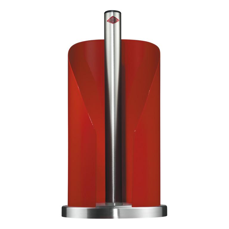 Držák na papírové ubrousky červený - Wesco