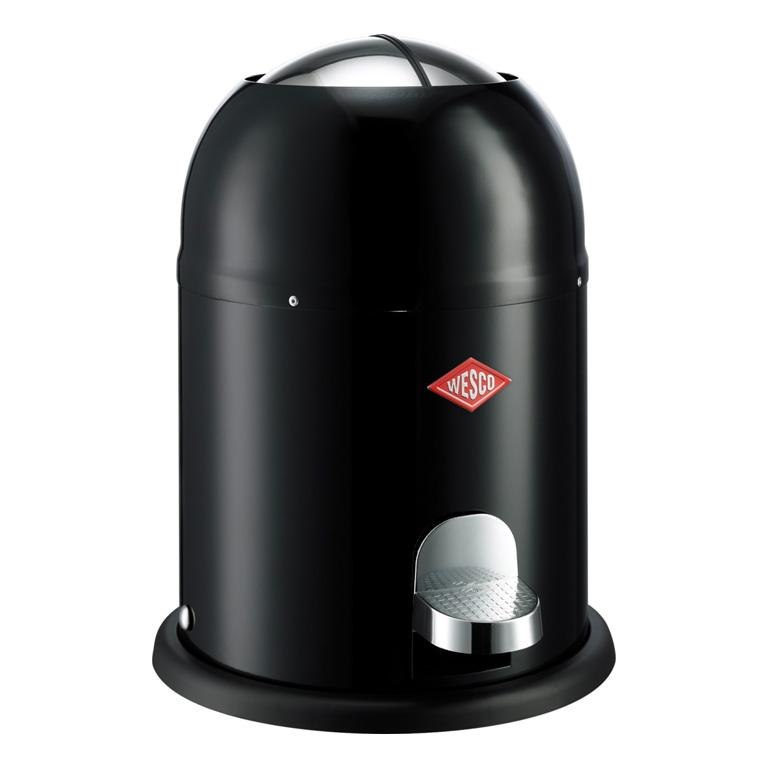 Odpadkový koš Single Master nášlapný černá 9l - Wesco