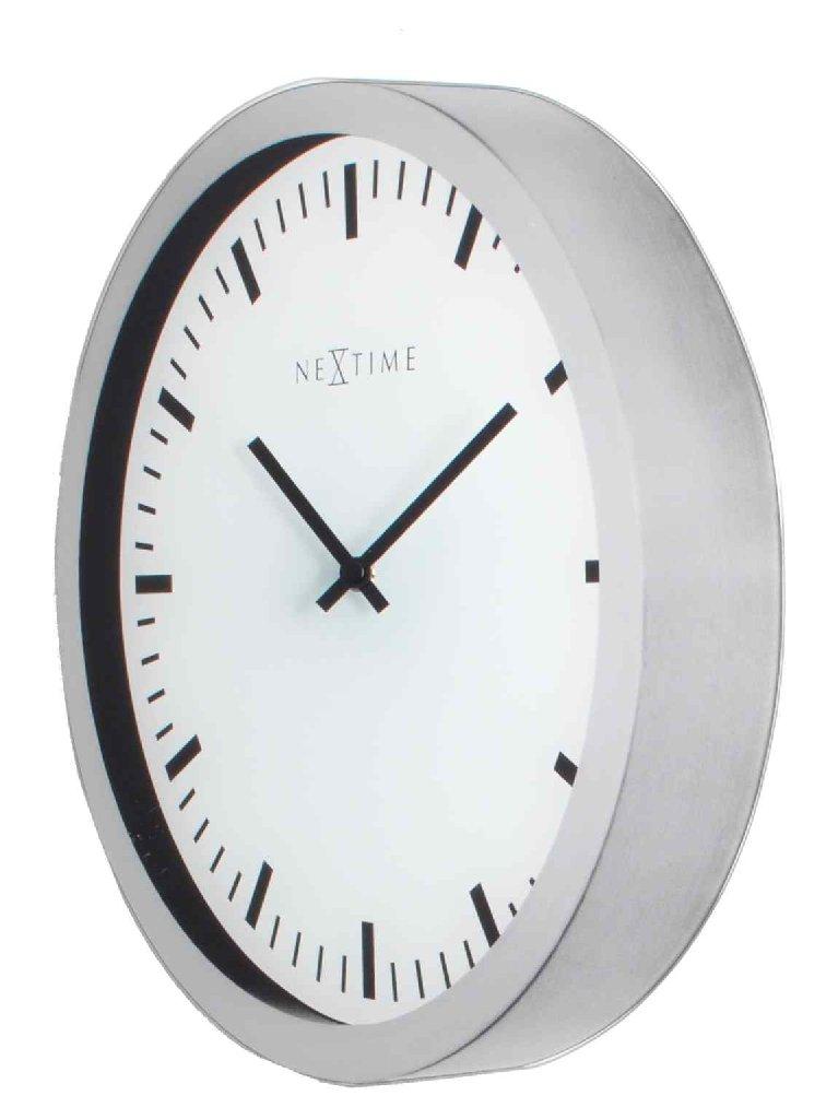 Nástěnné hodiny MAGIC 3D Stripe 25,5 x 35 cm - NEXTIME