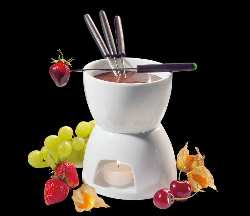 Čokoladové fondue bílé - Cilio