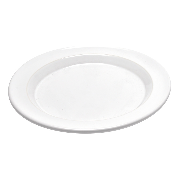 Talíř dezertní Flour bílý nugátový 21 cm - Emile Henry