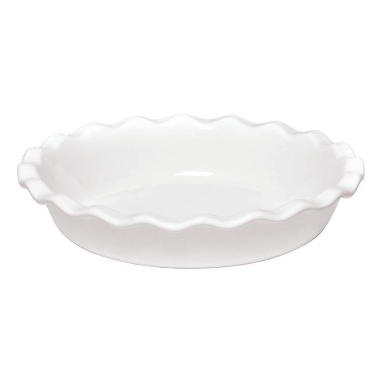 Koláčová forma Flour bílá nugátová 26 cm - Emile Henry