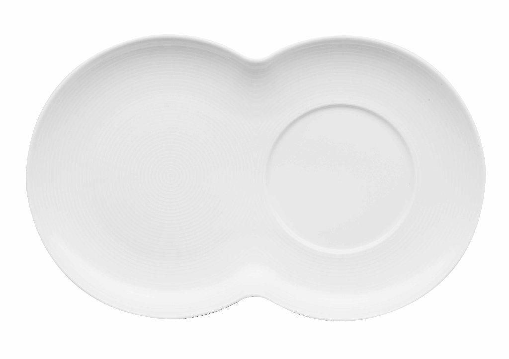 Loft Porcelánový podšálek na hrnek a misku na müsli 13 cm - Thomas Ros