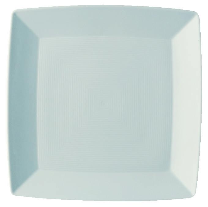 Loft Porcelánový Jídelní Talíř hranatý 27 x 27 cm - Thomas Rosenthal