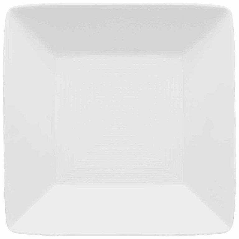 Loft Porcelánový Talíř polévkový hranatý 22 x 22 cm - Thomas Rosenthal