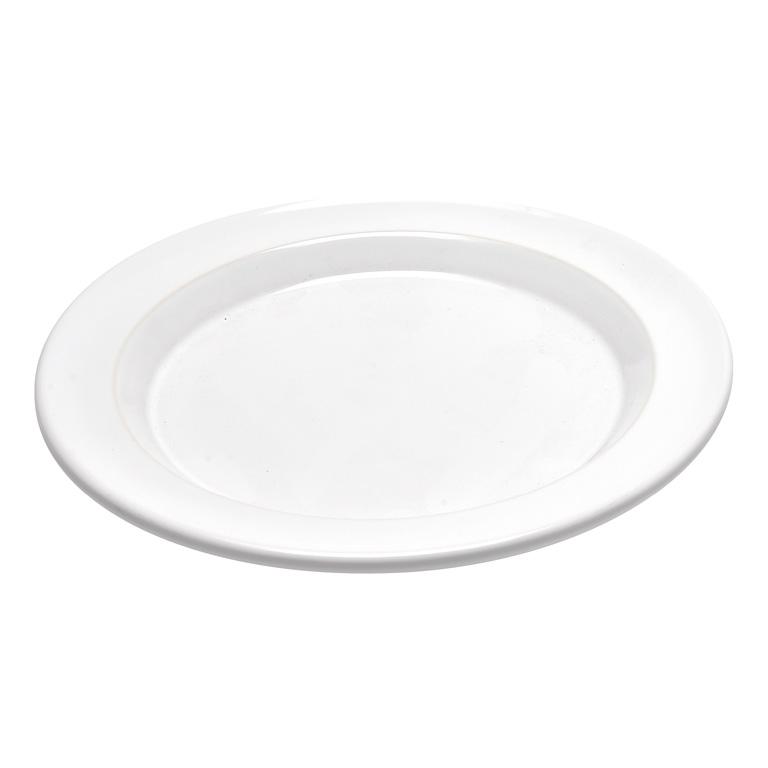 Talíř jídelní 28 cm Flour bílý nugátový - Emile Henry