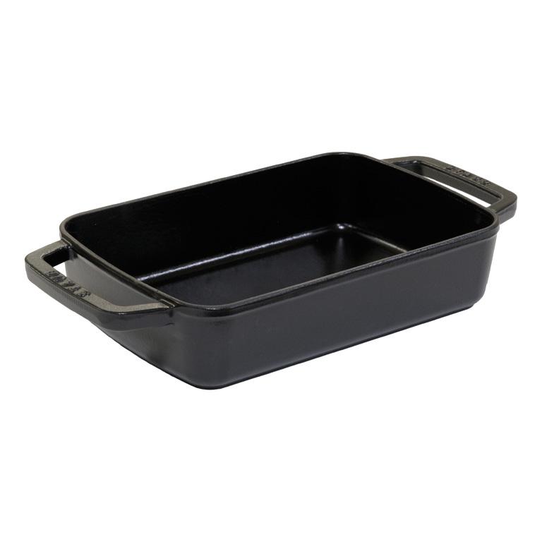 Pekáč obdelníkový 20 x 30 cm černá - Staub