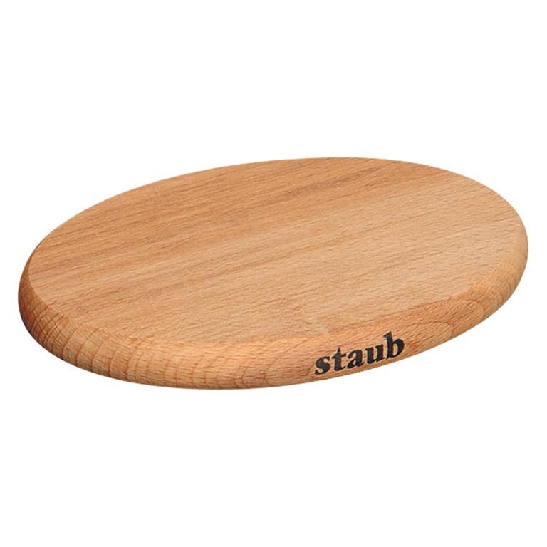 Dřevěná podložka pod hrnce s magnetickým jádrem 21 x 15 cm - Staub