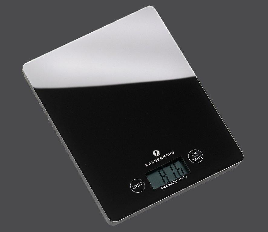 Kuchyňská digitální váha BALANCE černá - Zassenhaus