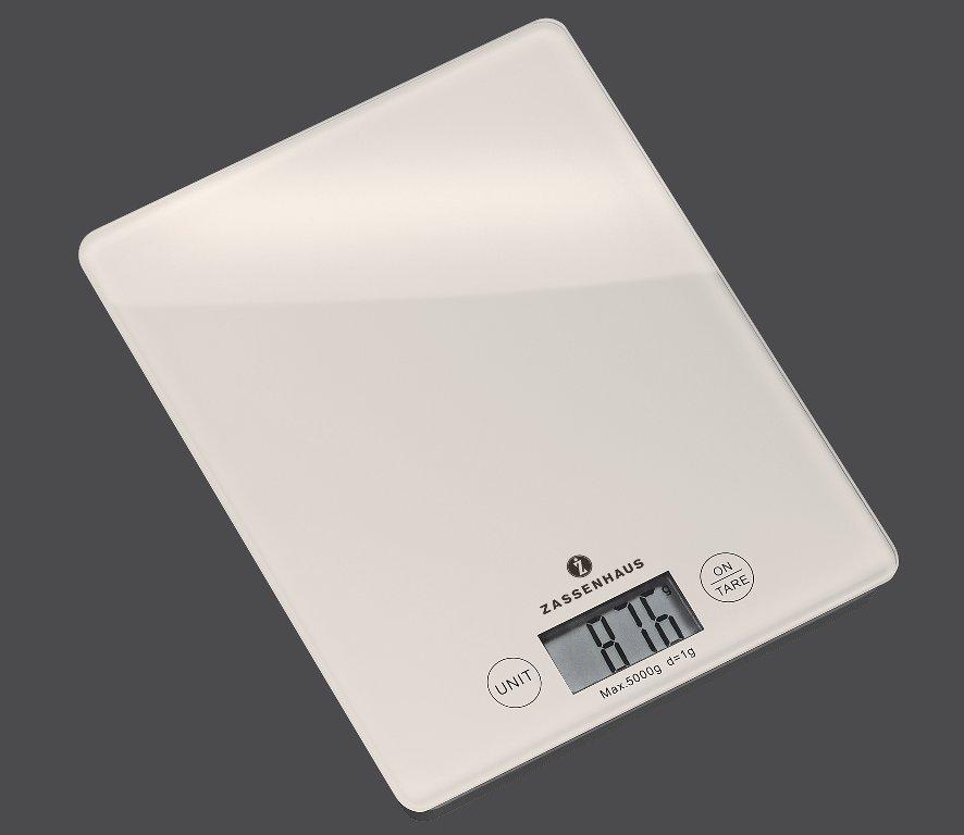 Kuchyňská digitální váha BALANCE bílá - Zassenhaus
