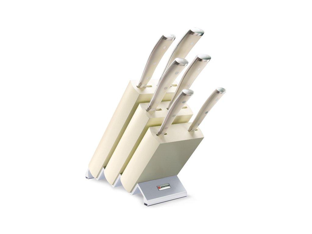 Blok s noži CLASSIC IKON Creme White 6 ks - Wüsthof Dreizack Solingen