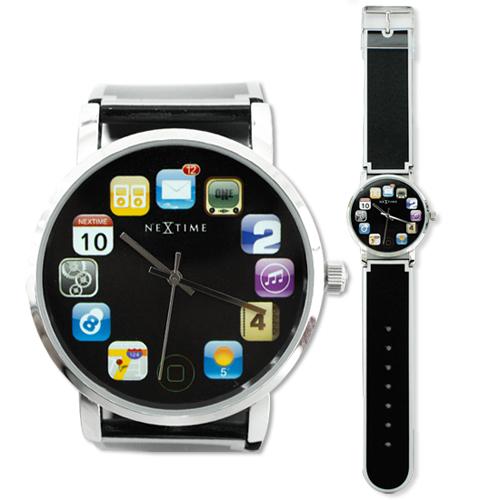 Designové hodinky Wristpad - NEXTIME