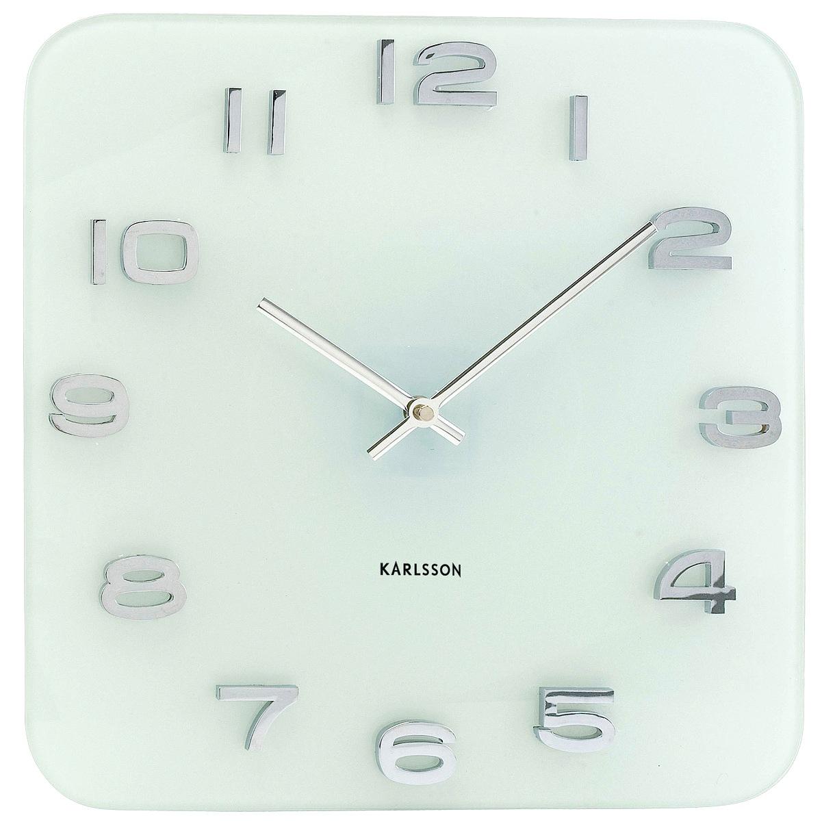Nástěnné hodiny Vintage white 35 x 35 cm bílé - Karlsson
