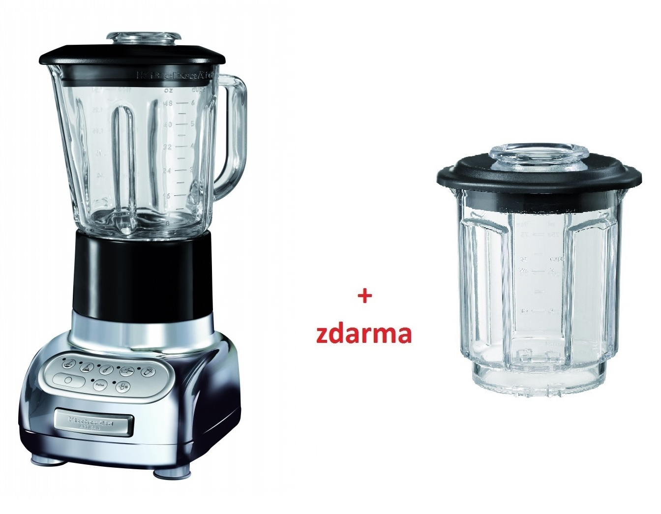 Kuchyňský mixér Artisan chromový- KitchenAid