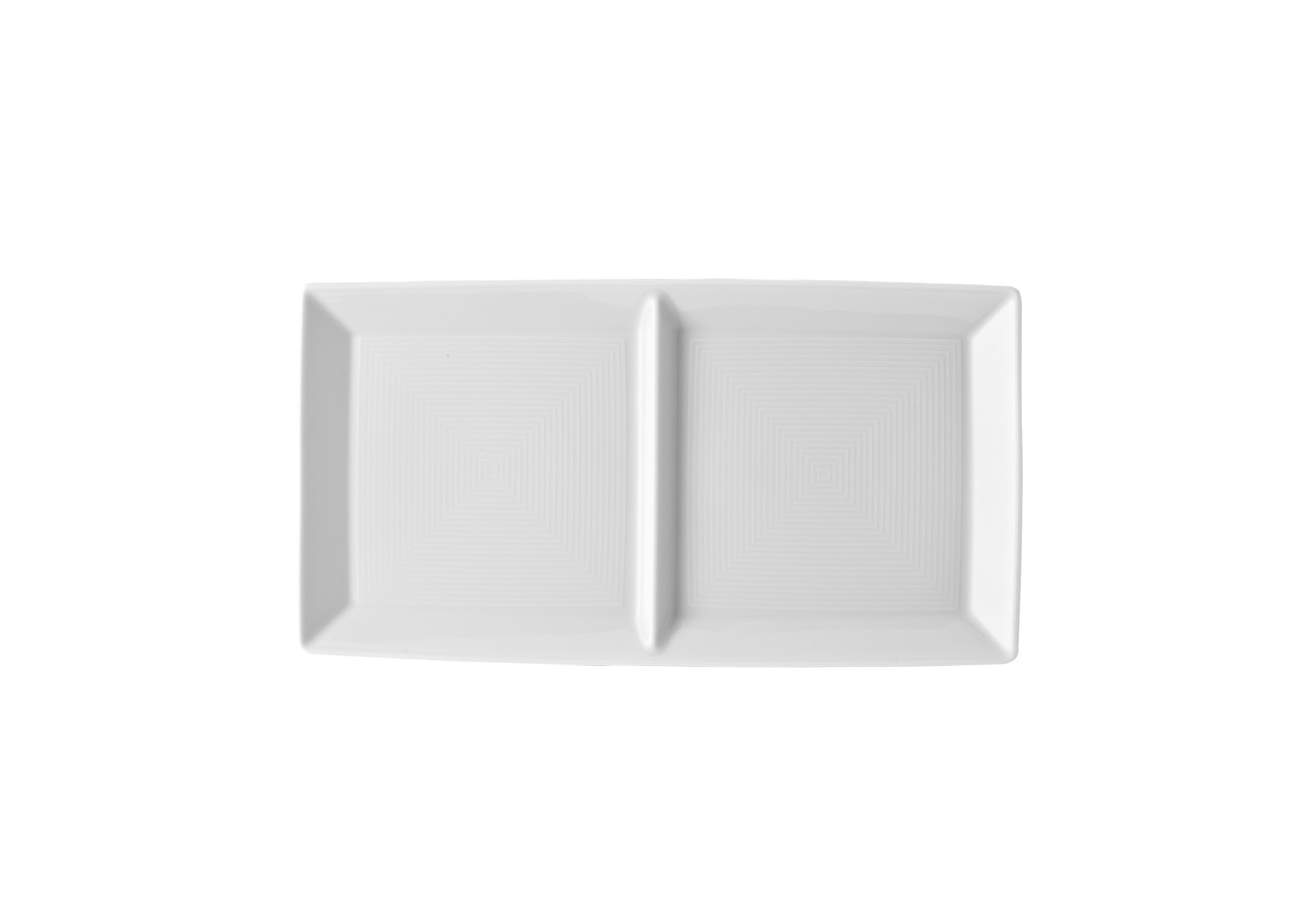 Loft Porcelánový Tác obdélníkový dělený 28 x 15 cm - Thomas Rosenthal