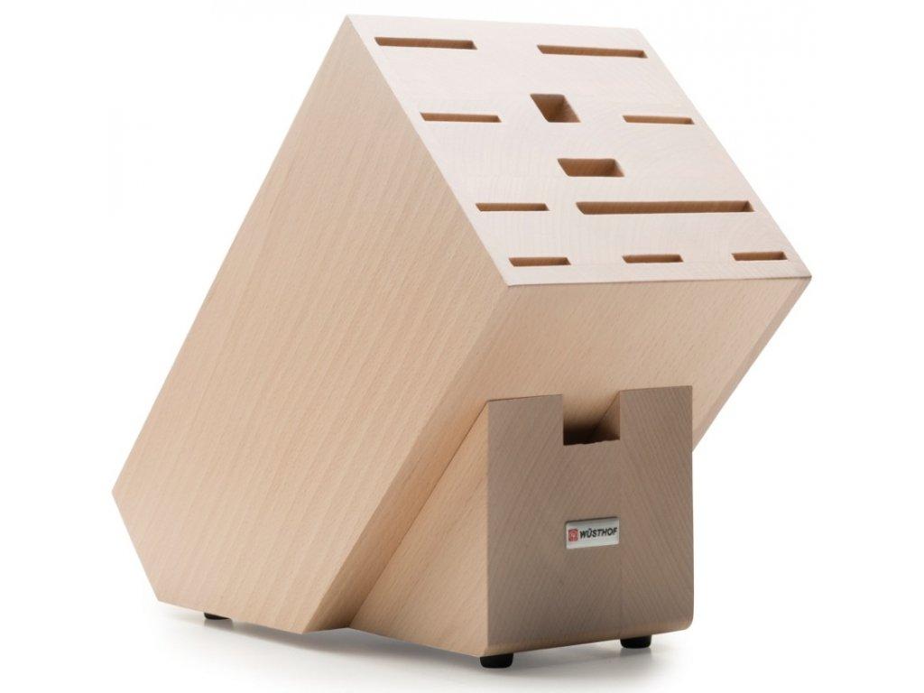 Blok na nože přírodní, na 12ks bukové dřevo - Wüsthof Dreizack Solingen
