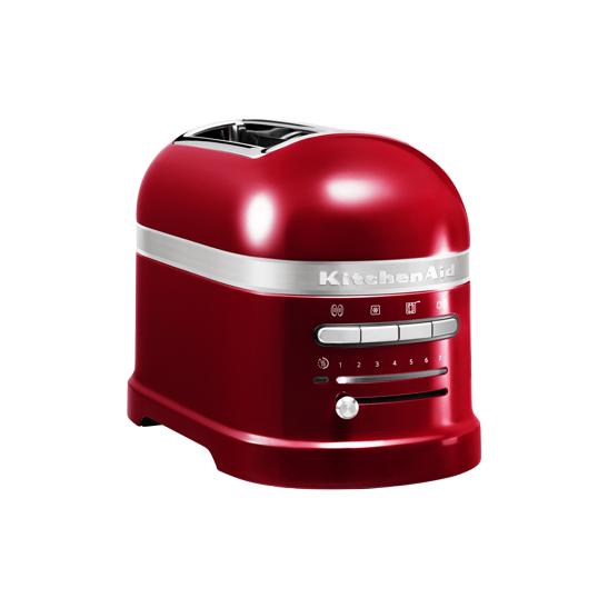 Toaster Artisan 2-plátkový červená metalíza - KitchenAid