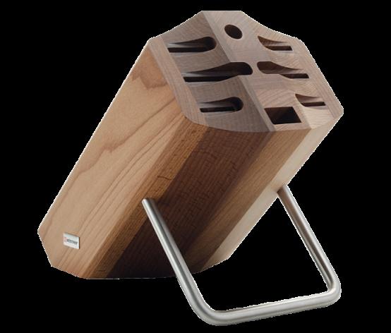 Blok na nože hnědý, na 8 ks termo bukové dřevo - Wüsthof Dreizack Solingen