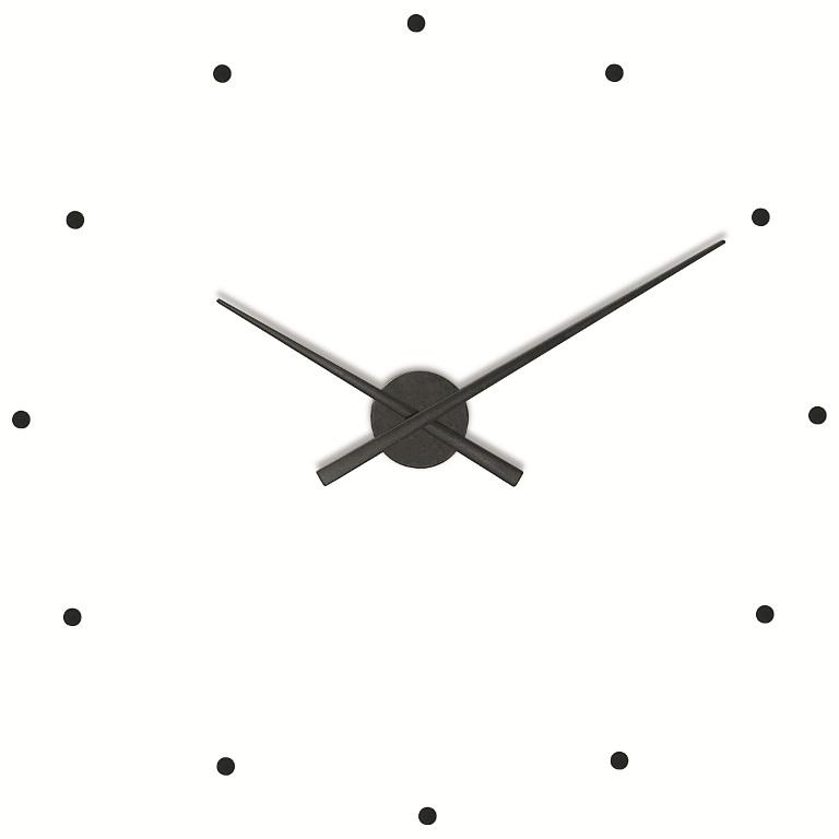 Nástěnné hodiny NOMON OJ černé 80 cm - NOMON
