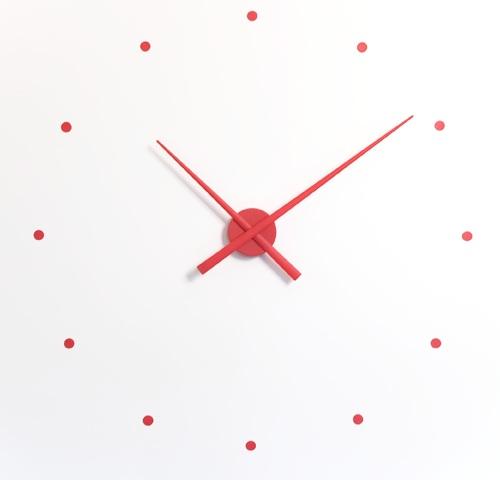 Nástěnné hodiny NOMON OJ červené 80 cm - NOMON
