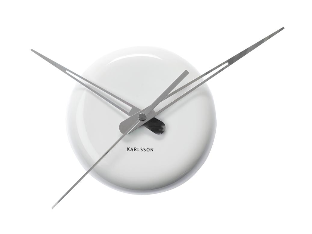 Nástěnné hodiny Ceramic Dot 14 cm bílé - Karlsson