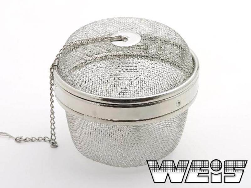 Nerezové sítko na koření 10 cm - Weis