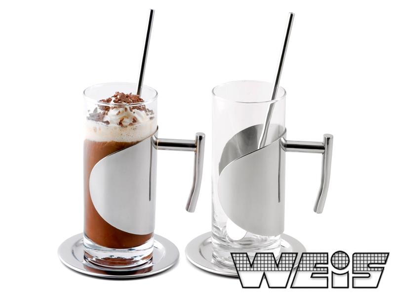 Sada sklenic na ledovou kávu 200 ml - Weis
