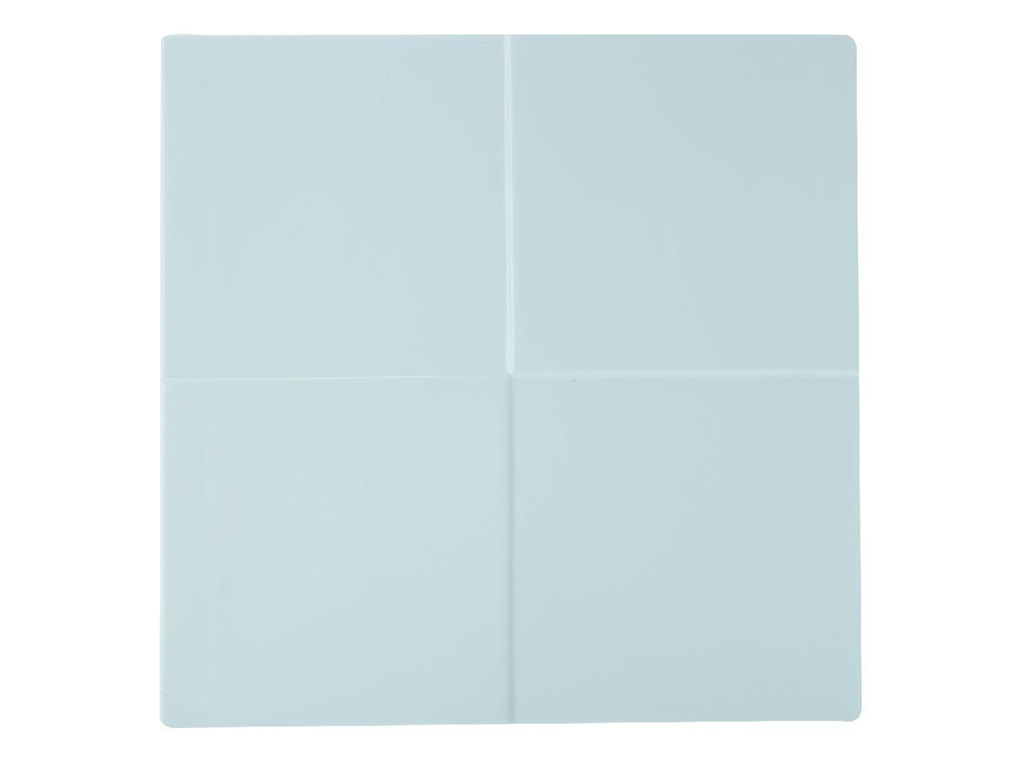 Porcelánový Čtvercový talíř motiv čtverec Metrix 30,5 cm - Maxwell&Williams