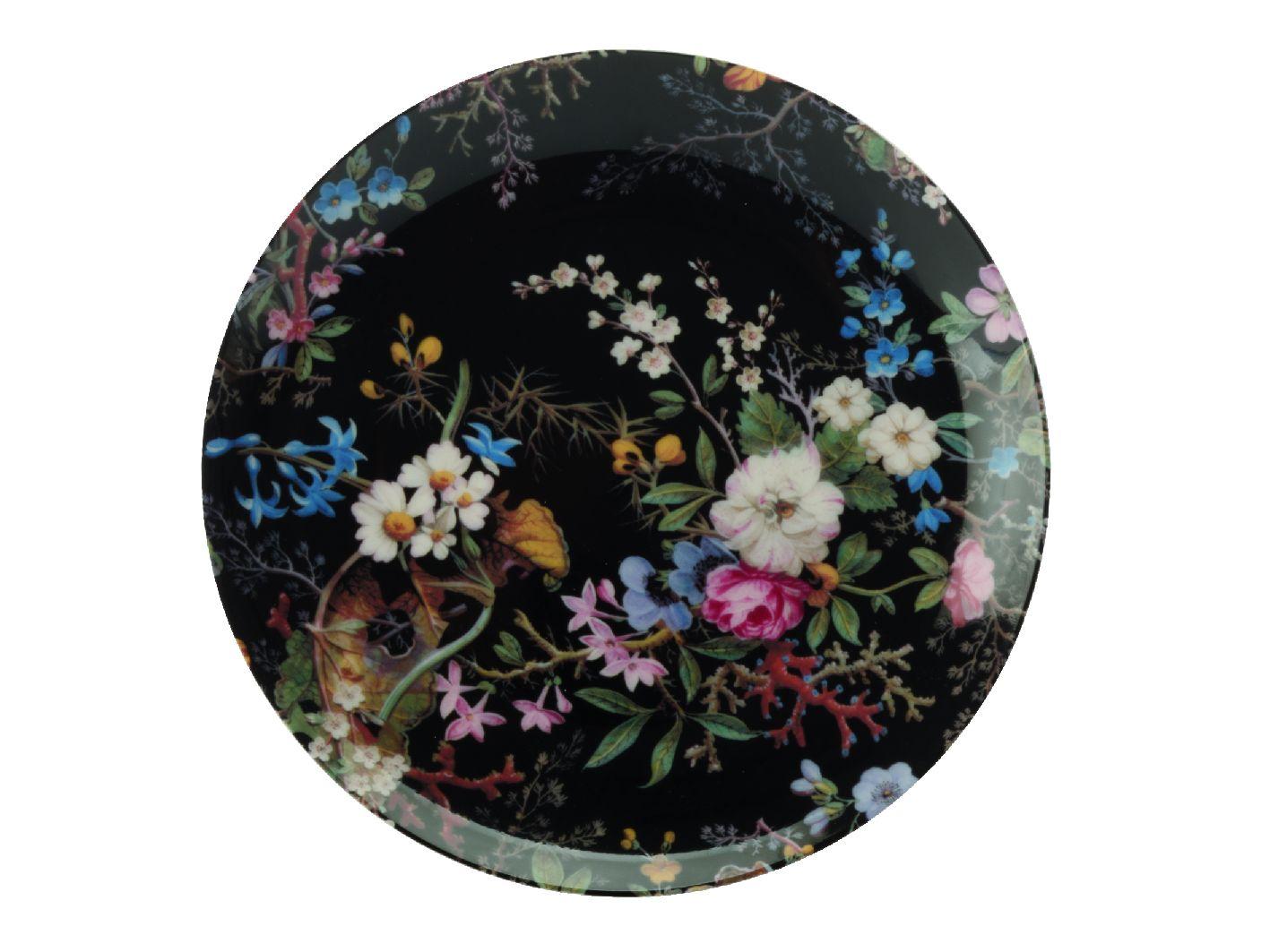 Dezertní talíř Midnight Blossom 20 cm William Kilburn - Maxwell&Williams