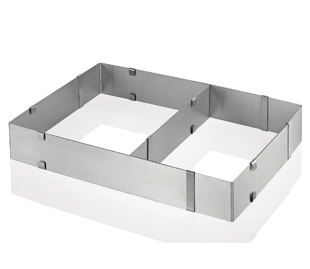Forma na dort nastavitelná hranatá - Küchenprofi