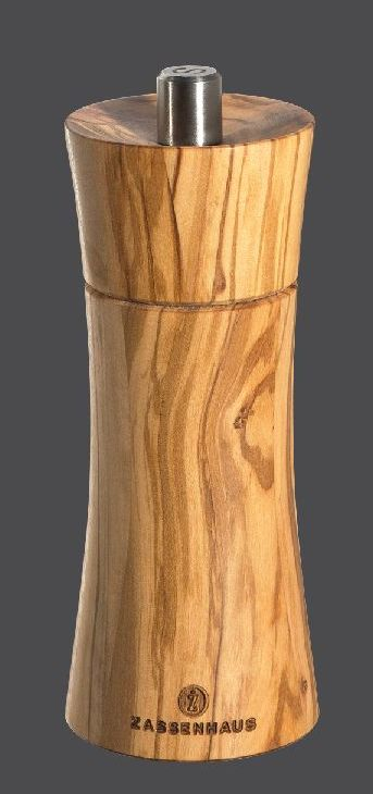Mlýnek na pepř FRANKFURT olivové dřevo 14 cm - Zassenhaus