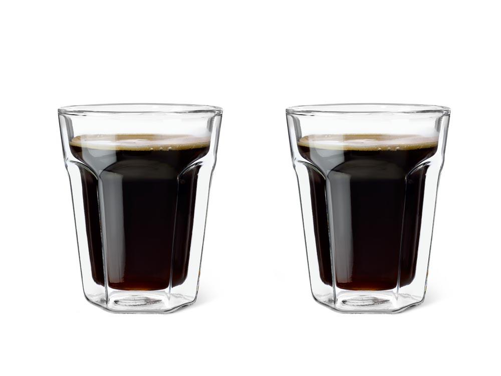 Dvoustěnný skleněný šálek na kávu 220 ml 2ks - Leopold Vienna