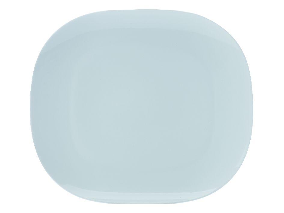 Jídelní talíř White Basics Bisou 30 x 26 cm - Maxwell&Williams