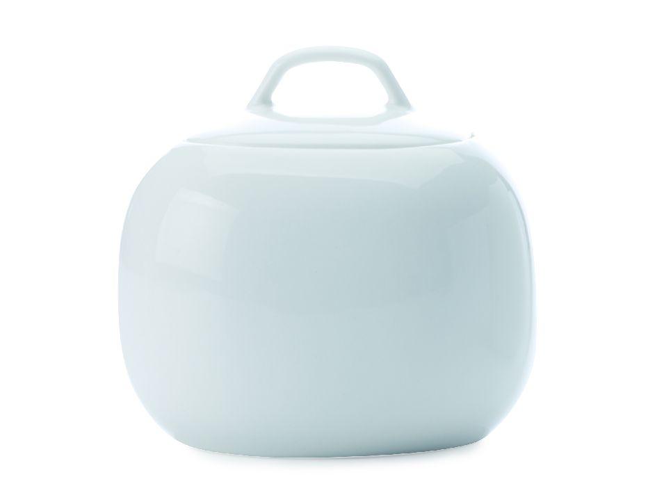 Porcelánová cukřenka White Basics Bisou 350 ml - Maxwell&Williams