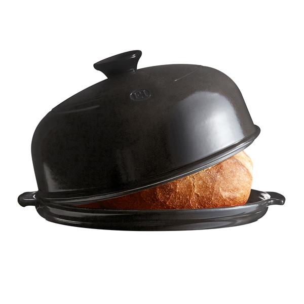 Forma na pečení chleba Charcoal pepřová 33 x 28 cm - Emile Henry