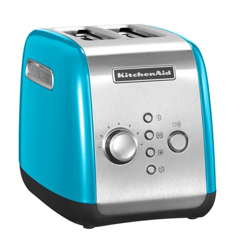 Topinkovač 2-plátkový křišťálově modrá - KitchenAid