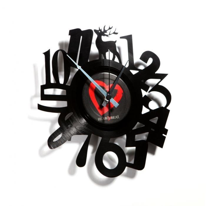 Nástěnné hodiny NUMBERS - Discoclock