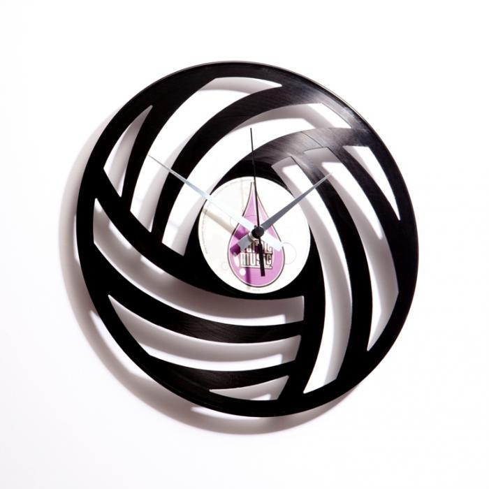 Nástěnné hodiny PURE WOOL - Discoclock
